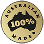 Australian Made Logo Black