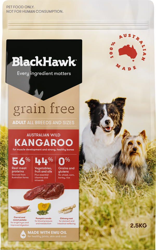 Holistic Pet Food Proudly Australian Black Hawk