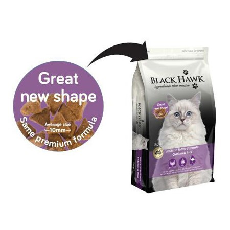 Read More about New Kibble Shape - Cat Chicken & Rice