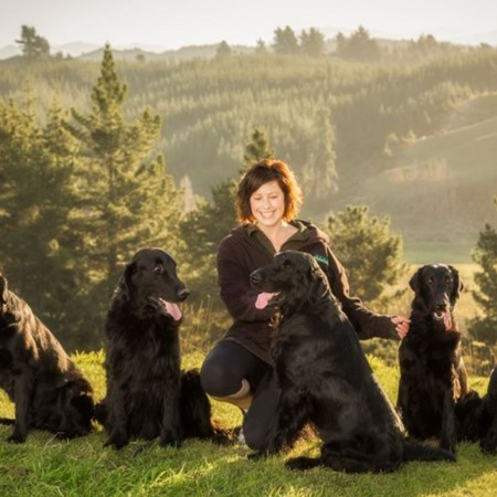 Read More about Amyas, Claire & Alice Trevelyan -  Trevalley Flat coated Retrievers
