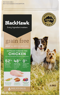 Introducing Grain Free Dog Food - Chicken
