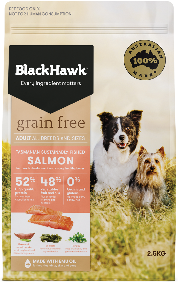 Read More about Grain Free Dog Food - Tasmanian Salmon