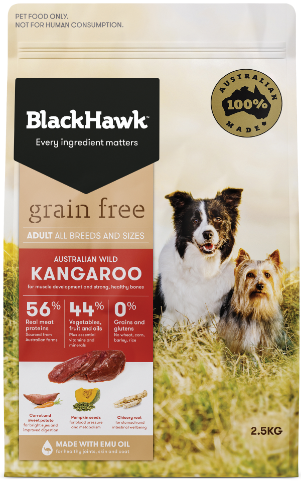 Grain Free Dog Food - Kangaroo
