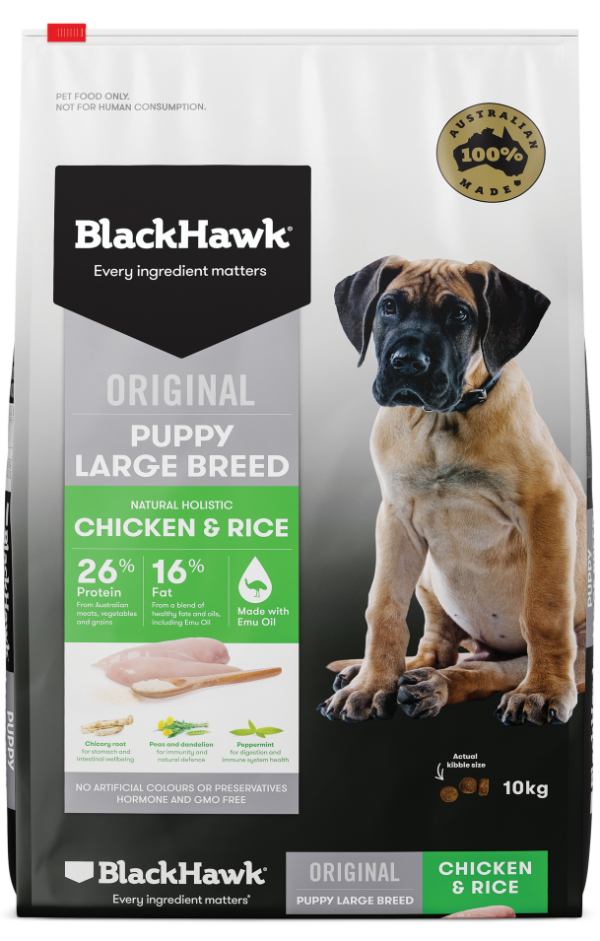 Puppy Food for Large Breeds - Chicken and Rice