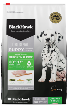 Introducing Puppy Food - Chicken and Rice