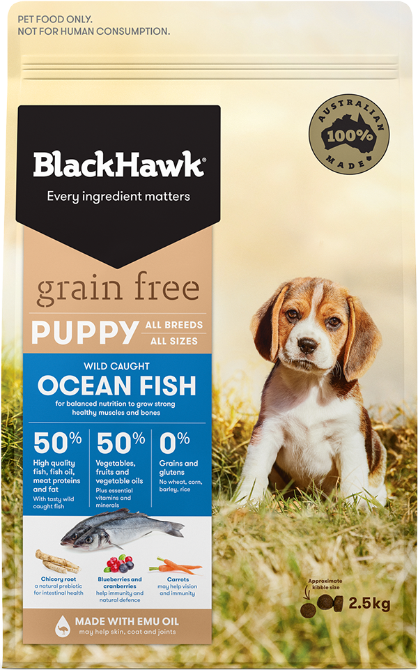 Grain Free Puppy Food - Ocean Fish