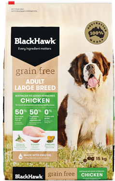 Introducing Grain Free Dog Food for Large Breeds - Chicken