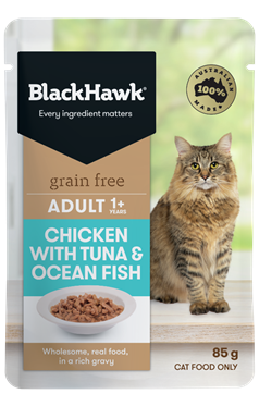 Introducing Wet Cat Food - Chicken with Tuna and Ocean Fish