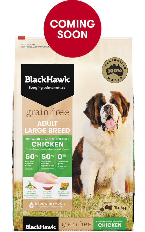 Grain Free Dog Food for Large Breeds - Chicken