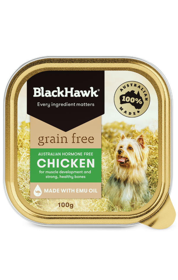 Grain Free Wet Dog Food Tray - Chicken